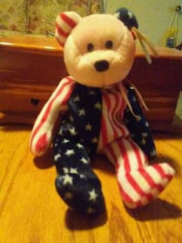 Beanie baby spangle usually worth 50.00!! Troy, 12182