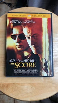 The Score DVD Movie Laurel