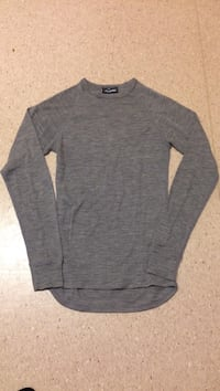 Grey Heather raglan-ermet sweatshirt Grålum, 1712