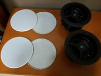 *LIQUIDATION ALL RESONABLE OFFERS ACCEPTED*Top of the line ceiling speakers and covers  Auburn, 98092