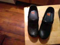 pair of black leather heeled shoes Oaklyn, 08107