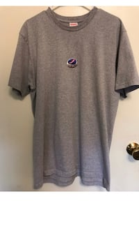 Supreme bottle cap tee ( heather grey pretty rare )