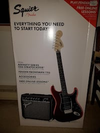 Squire Stratocaster Electric Guitar North Saanich, V8L 5V1