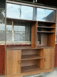 brown wooden cabinet with shelf Baldwin Park, 91706