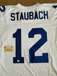 ROGER STAUBACH SIGNED COWBOYS JERSEY W STEINER COA Manchester Township, 08759