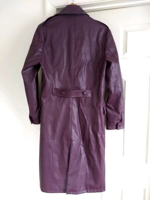 Purple Trench Coat e41587b8-af6c-4465-a42a-b18aed09a84a