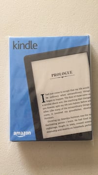 """NEW Kindle E-reader   (ebook touchscreen tablet) w/ wifi, audible, 6"""" touchscreen  