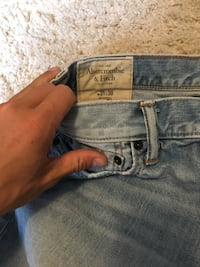 blue denim True Religion bottoms Brantford, N3R 4Z7