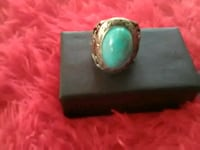 Oval  Design. Turquoise.  ,  Silver  plated.  Westlake, 70669