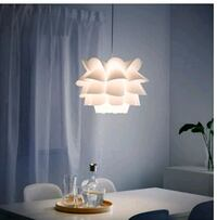white and brown table lamp Kenner, 70065