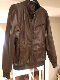 Leather jacket. Perfect condition. Size L Brampton, L7A 3H4