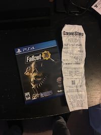 Fallout 76 Brand New condition PS4 Frederick, 21703
