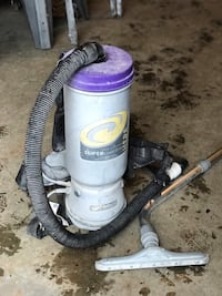 gray and purple Dyson upright vacuum cleaner Falls Church, 22046