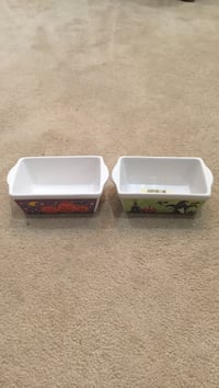 Set of two Halloween small loaf dishes Herndon, 20170