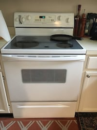 Electric range and oven.  Chantilly, 20151