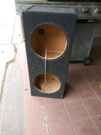 Subwoofer box only