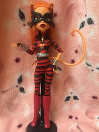 Monster High Toralei Stripe Power Ghouls Bowie, 20715