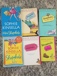 Shopaholic books by Sophie Kinsella