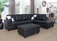 Brand new sectional sofa with ottoman Mississauga