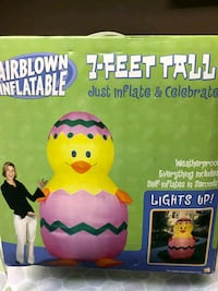 Easter Chick in Egg Airblown inflatable Paramus, 07652