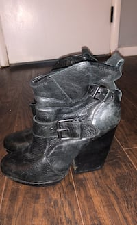 Used Short Leather Boots For Sale In Cleveland Letgo