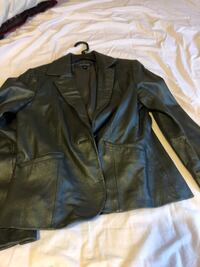 Gray leather jacket  Baltimore, 21215