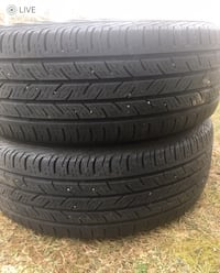 2 tires 225/60r17 $60 continental tires  Leesburg, 20176