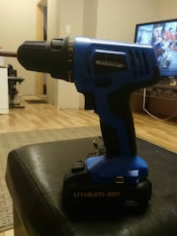 blue and black cordless hand drill Stratford, N5A 1Z8