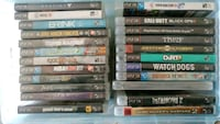 PS3 CONSOLE/22 GAMES/PS MOVE & REMOTES & 3 CONS