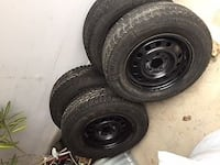 4 tires 14 inch like new Toronto, M5K 2A1