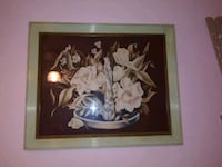 1940's-50's Framed Asian lady print..Gorgeous! Toledo