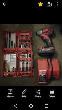 milwaukee m18 1/4 in. driver