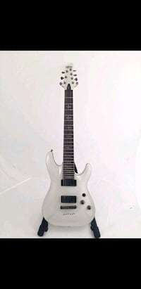 Schecter demon 7 string guitar Lowell