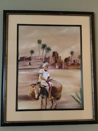 Real painting from Morocco (modesty & Wisdom) Coquitlam, V3C 5L7