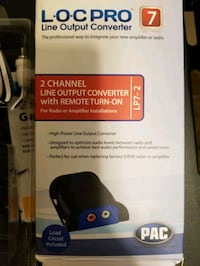 Brand new 2 channel line converter