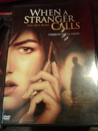 When a stranger calls DVD case