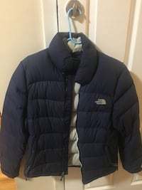 Blue  the north face zip-up bubble jacket Bayonne, 07002