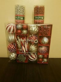 52 count Christmas ornaments Randallstown, 21133