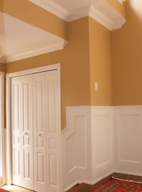 Painting wainscoting design  Sterling