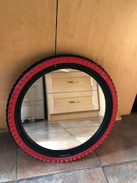 Mirror with tire frame Vancouver, V5W 3G8