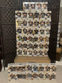 Funko pop Walking Dead collection