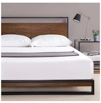 King size industrial bed