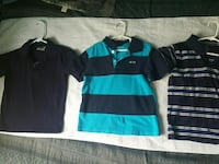 three assorted-color polo shirts San Juan, 78589