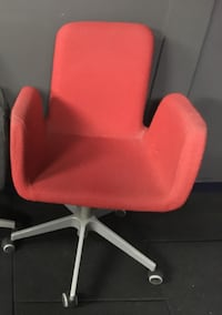 Red Office Chair Vancouver