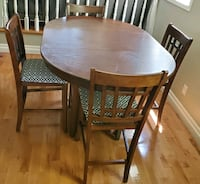 Table and 4 chairs  Ottawa, K1W 1H3