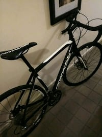black and white hardtail bike Queens, 11373
