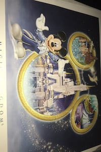 Rare Disney 4 pack Collector Lithograph Kitchener, N2A 1W3