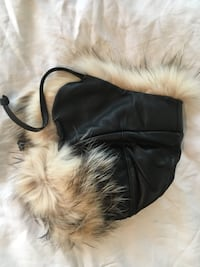 Brand new Badger fur and leather hat. St Albert, T8N 3Z2