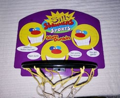 Indoor Talking Basketball Net~ Toy/Game ~Home/Office/Cottage -Vintage