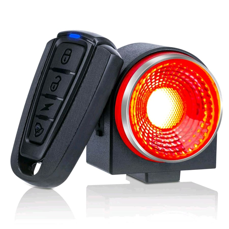 Smart Bike Tail Light, 115db Anti-Theft with Remote NEW IN BOX ½ PRICE